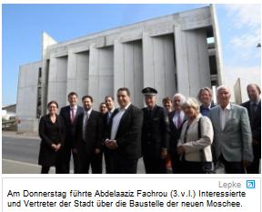 Erste Duesseldorfer Moschee als Ort der Begegnung