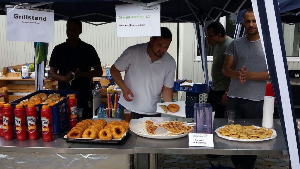 Sommerfest für Flüchtlinge